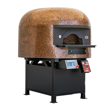 Saetta Gas Fired Pizza Ovens with Undertop Gas Burner