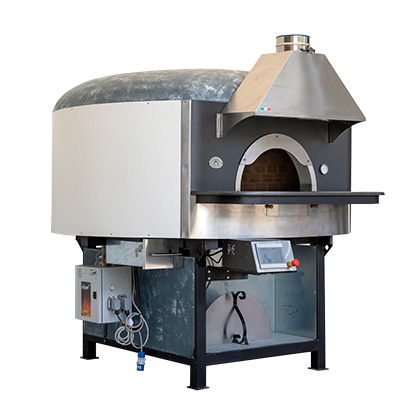 Saetta Wood Fired Pizza Ovens with Undertop Gas Burner