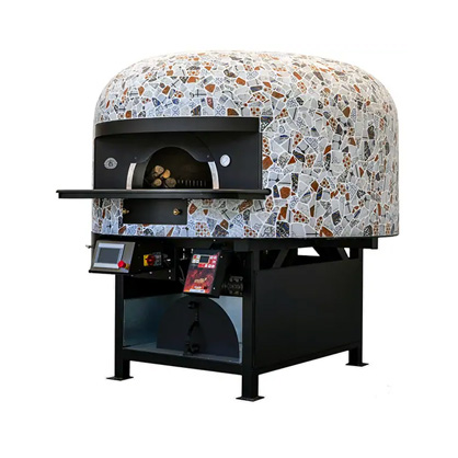 Saetta Wood and Gas Fired Pizza Ovens with Undertop Gas Burner